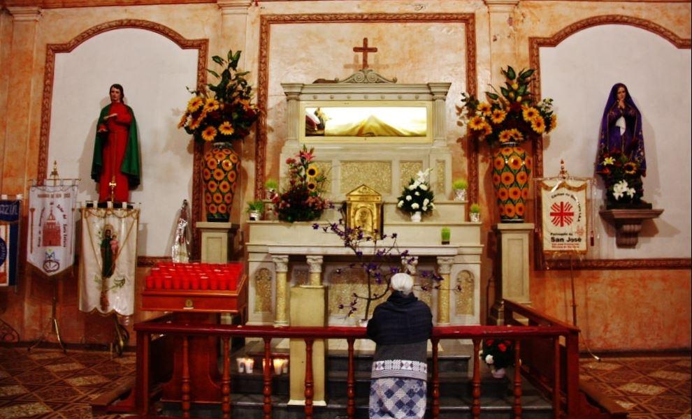 Devoción en San José Iturbide