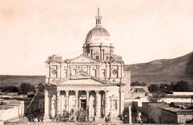 Foto Antigua de la Parroquia de San José